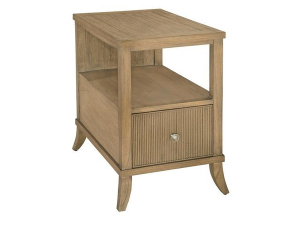 952205KH Hekman Urban Retreat Chair Side Drawer Table