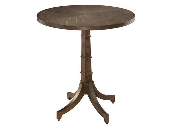 952206SU Hekman Urban Retreat Round Chair Side Table
