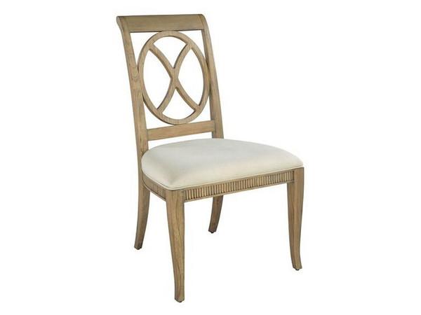 952225KH Hekman Urban Retreat Ring Back Side Chair