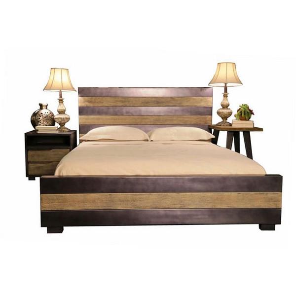 BD2014 Home Accents Bradley Platform Bed Queen