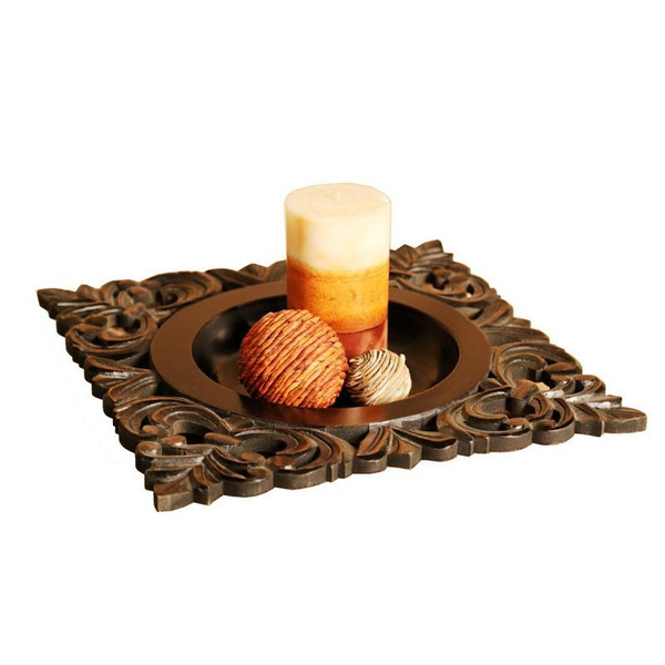 WT1125 Home Accents Emma Lou Tray