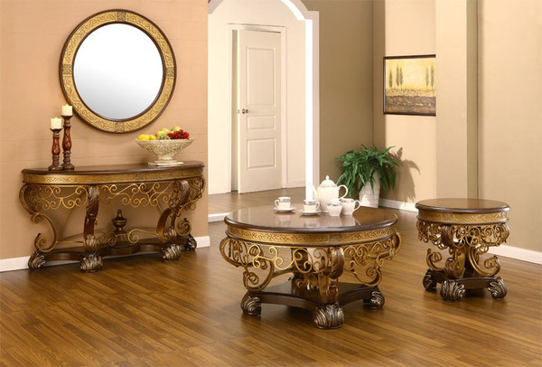 Homey Design French Coffee Table HD-2112