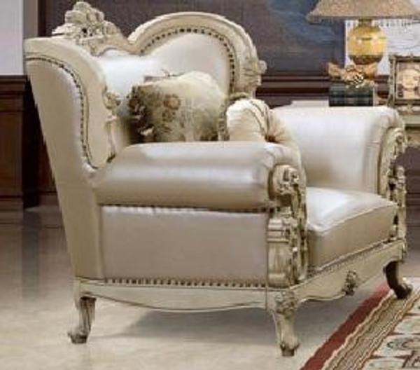 Homey Design Victorian Cream Chair - Hd-32 HD-32-CHAIR