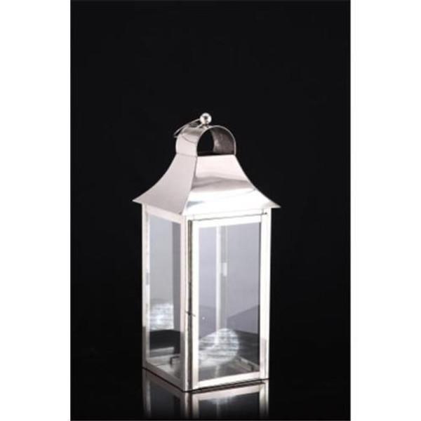 H-1031 Horizon Square Candle Lantern Medium
