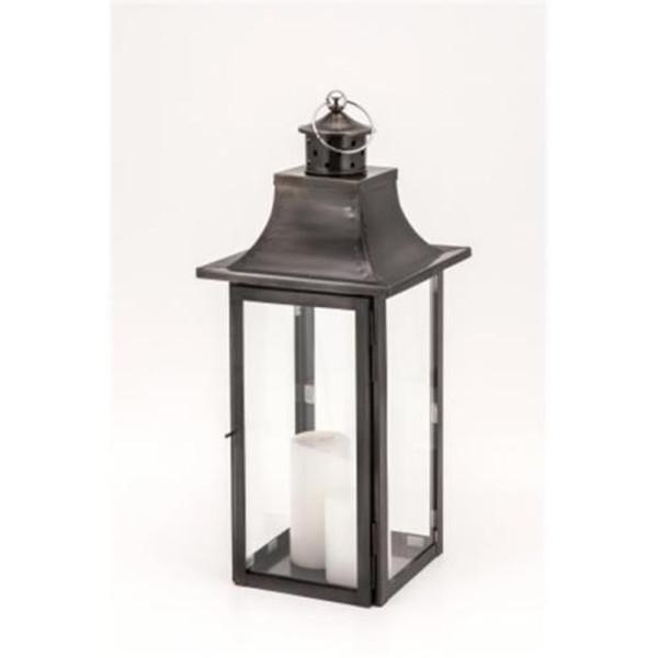 H-1058 Horizon Empire Black Zinc Lantern Small