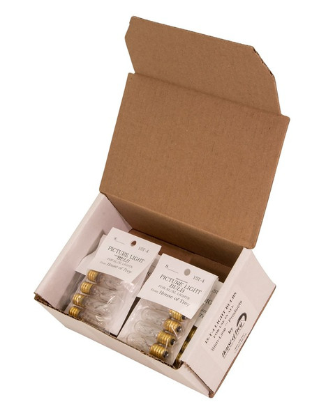 House Of Troy 15 Watt T4 Master Carton Of 36 Bulbs 15T4-BOX