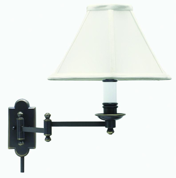 House Of Troy Oil Rubbed Bronze Wall Swing Lamp CL225-OB