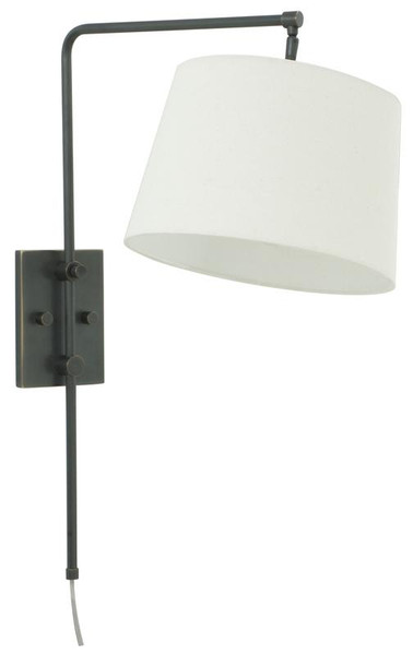 House Of Troy Oil Rubbed Bronze Wall Bridge Lamp CR725-OB