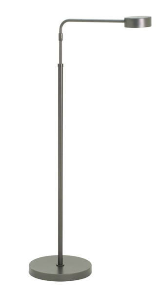 House Of Troy Generation Adjustable Led Floor Lamp In Granite G400-GT