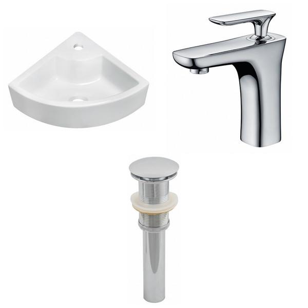 Unique Ceramic Vessel Set - White AI-15430