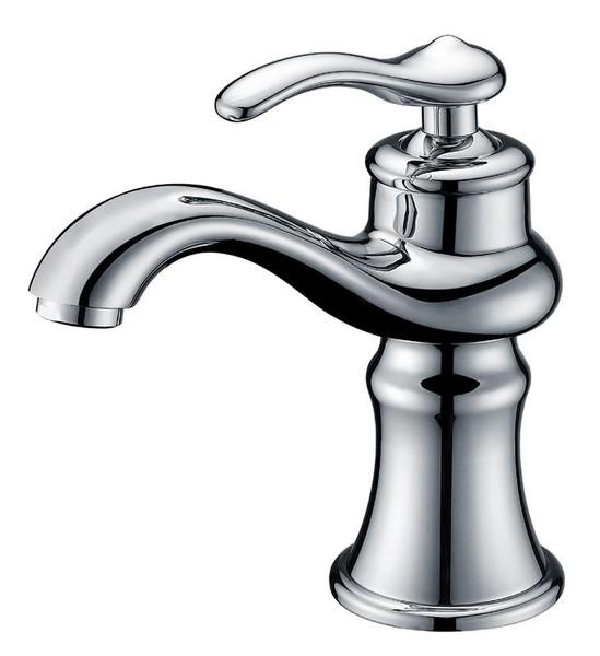 Unique Single Hole Brass Bathroom Faucet - Chrome AI-1779