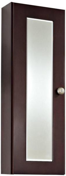 Tiffany Rectangle Birch Wood-Veneer Medicine Cabinet - Coffee AI-336