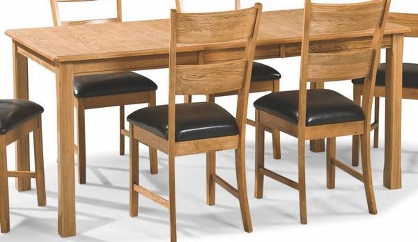 "Intercon Family Four Leg Dining Table - 36"" x 60-78"" FD-TA-L3678-CNT-C"