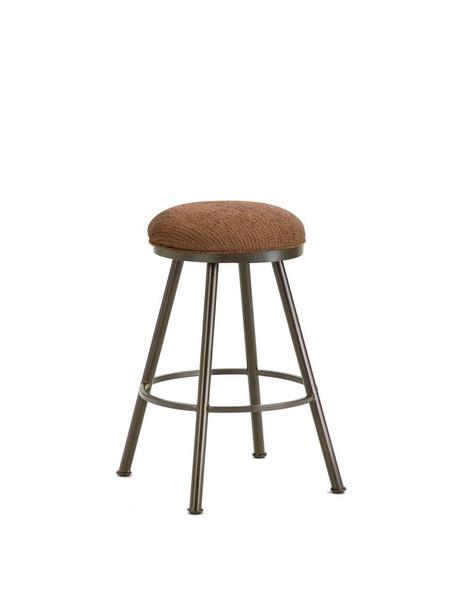 1102630 Alexander Backless Bar Stool - Rust/Radar Nugget