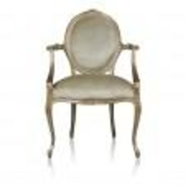 11414NF15 Vintage Cameo Arm Chair