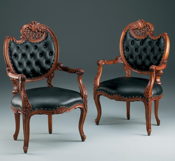 31367 Vintage French Fireside Chair