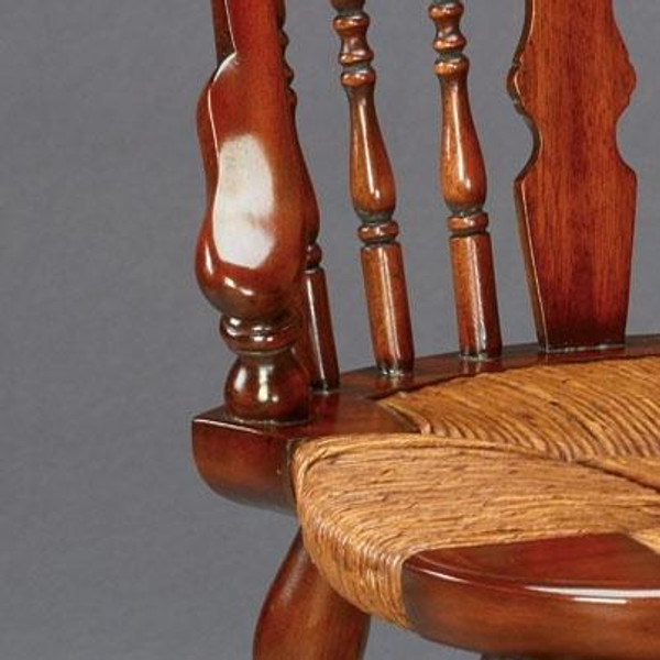 33661 Vintage Chair New England In Walnut Finish