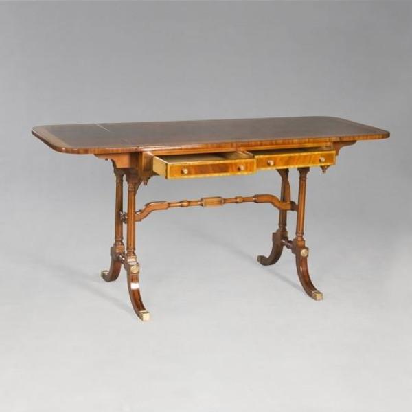 33792 Vintage Desk Cambridge In Wood Finish