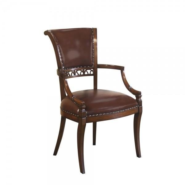 33980/1EM Vintage Elbow Style Arm Chair