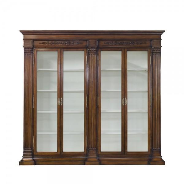 34046EM Vintage Bookcase Rollins With Light