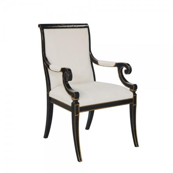34077/1 Vintage Arm Chair Charleston With Chinoserie