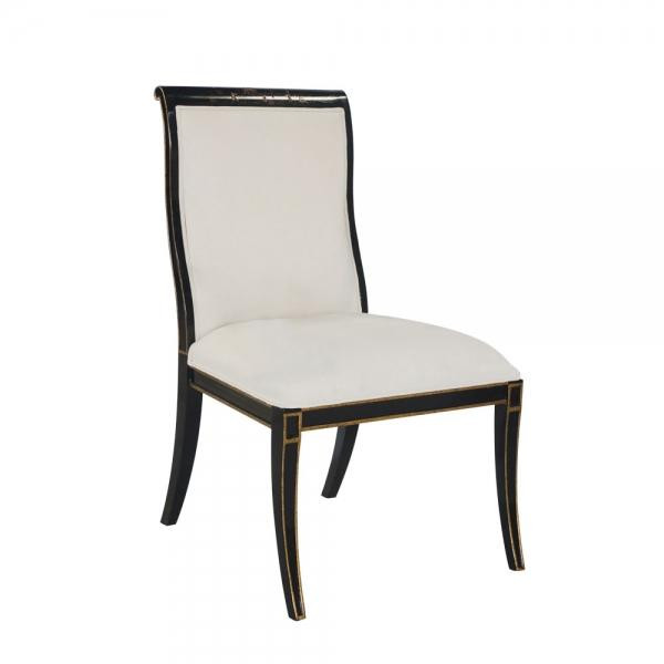 34077/2 Vintage Side Chair Charleston With Chinoserie