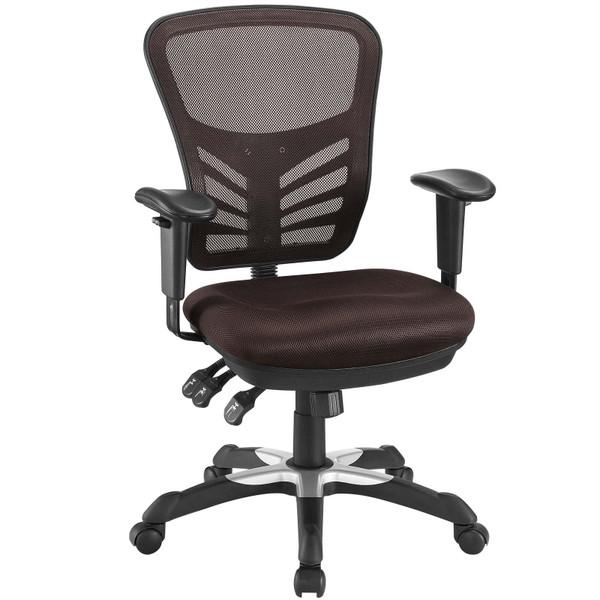 Modway Articulate Mesh Office Chair - Brown EEI-757-BRN
