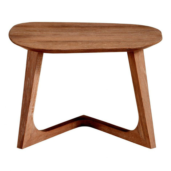 Moes Home Walnut Godenza End Table CB-1018-03