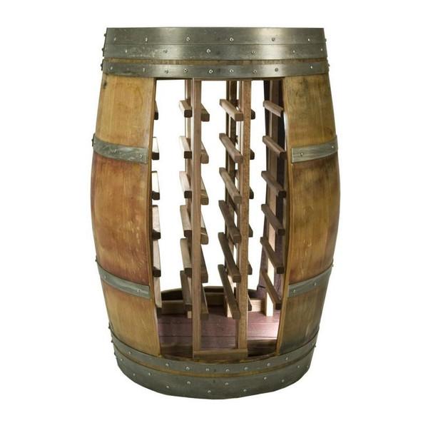 1013 Napa Whole Barrel Wine Rack