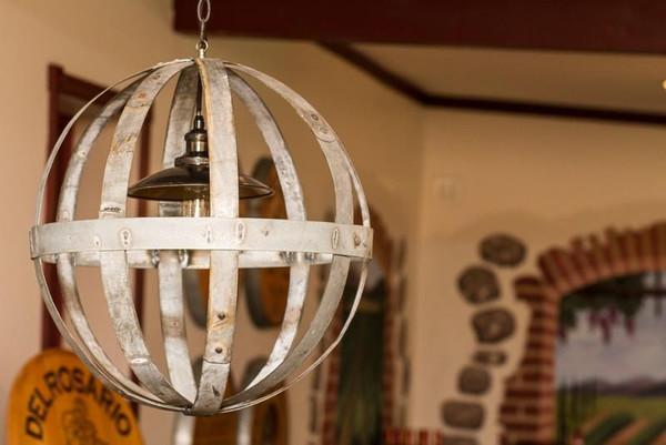 1034 Napa Globe Chandelier