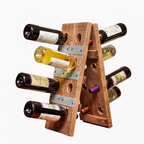 1043 Napa Small Folding Riddling Wine Rack