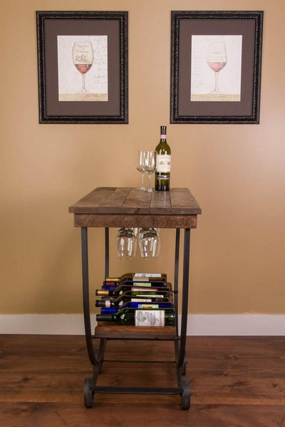 1047 Napa Vintage Wine Cart