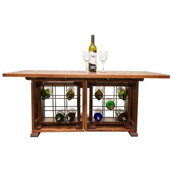 1074 Napa Coffee Table With Wine Rack
