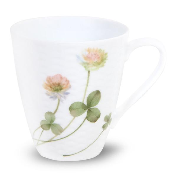 1654-5355C2 10 Ounces White Yellow Mug - Pack of 2 - by Noritake