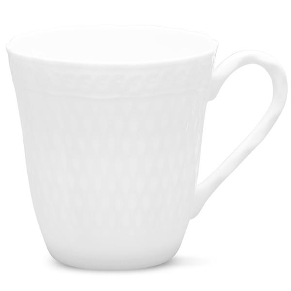 1655-484 Cher Blanc 10-Ounces Mug - Pack of 2 - by Noritake
