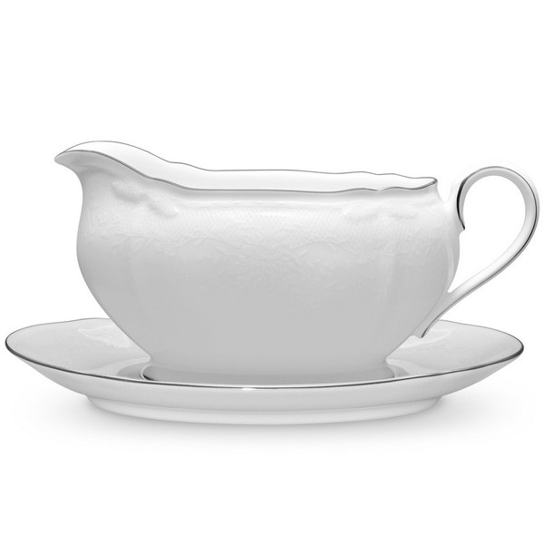 1661-416 Gravy With Tray by Noritake