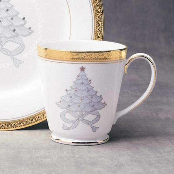 4167-502D Crestwood Gold 12-Oz Holiday Accent Mugs Set Of 4