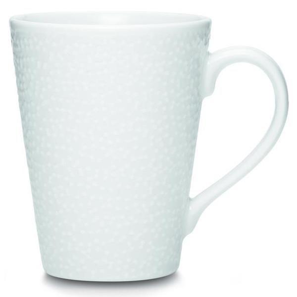 43812-484 White On White Mug - (Set Of 2) by Noritake