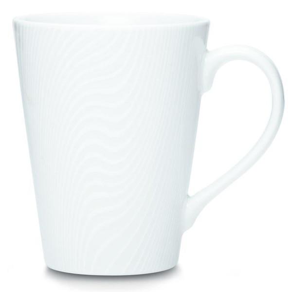 43814-484 White On White Mug - (Set Of 2) by Noritake