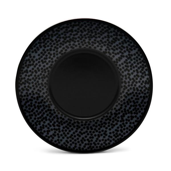 "43816-403 Black 6.5"" Saucer - Pack of 4 - by Noritake"