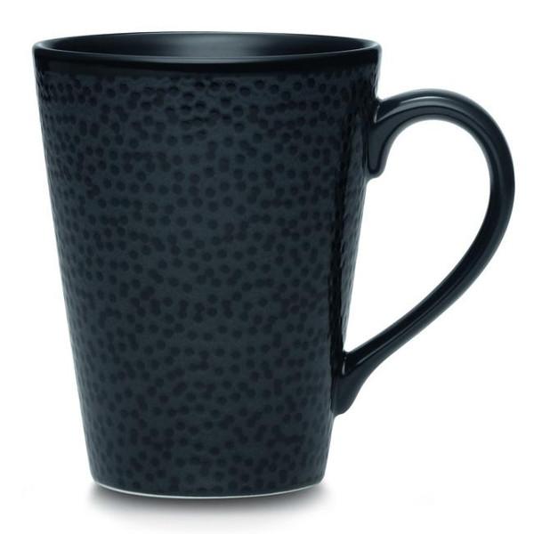 43816-484 Black Mug - (Set Of 2) by Noritake