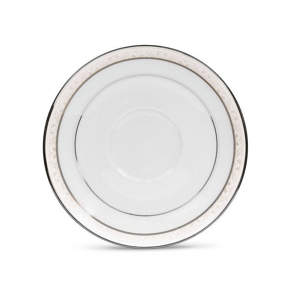 4807-403 Platinum Band Saucer - (Set Of 2) by Noritake