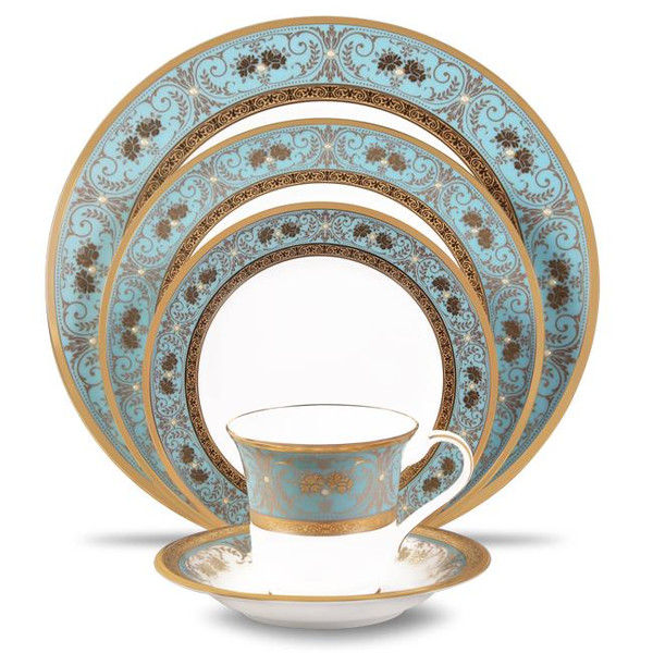 4857-05E Gold Accent 5 Piece Place Setting by Noritake