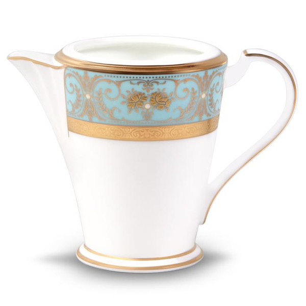 4857-425 Turquoise Blue Accents Creamer by Noritake