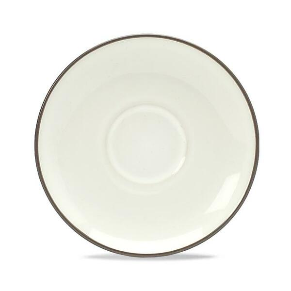 """8046-403 Chocolate 6.5"""" Saucer - Pack of 4 - by Noritake"""