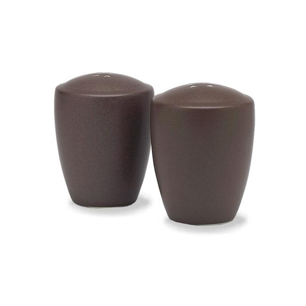 "8046-434 Chocolate 3.38"" Salt And Pepper - by Noritake"