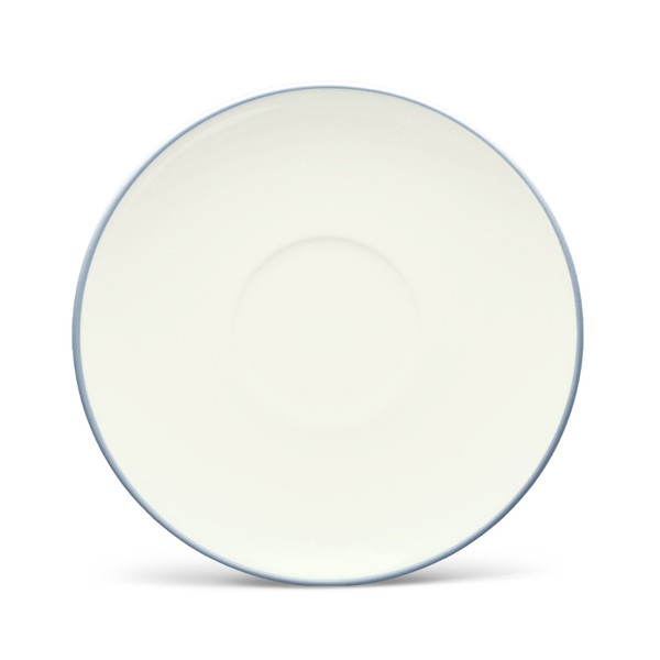 """8099-403 Ice 6.5"""" Saucer - Pack of 4 - by Noritake"""
