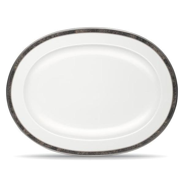 """9318-413 14"""" Oval Platter by Noritake"""