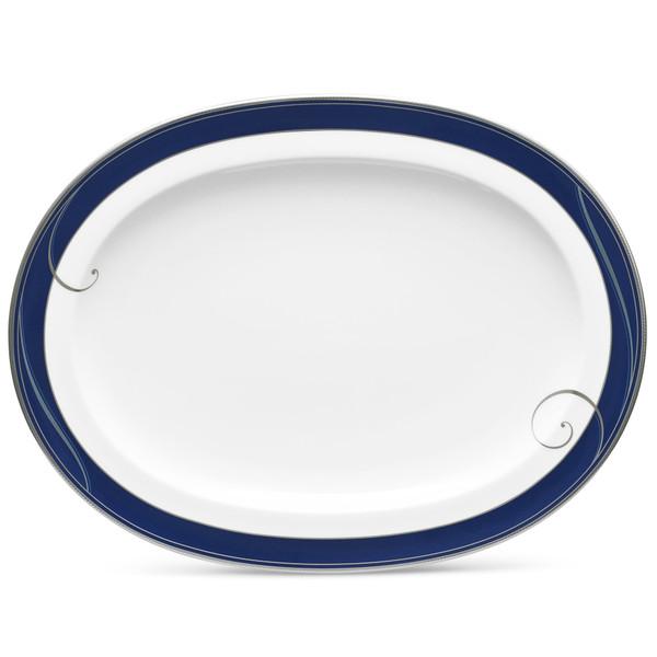 """9348-413 14"""" Oval Platter by Noritake"""