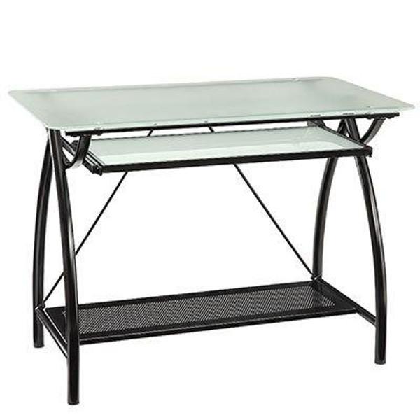 Office Star Osp Designs Newport Black Computer Desk NWP25-BK